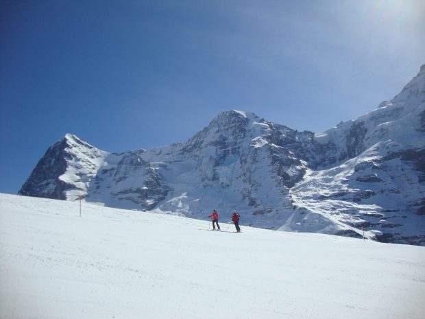At the famous Lauberhorn, the longest and most demanding piste in World Cup.